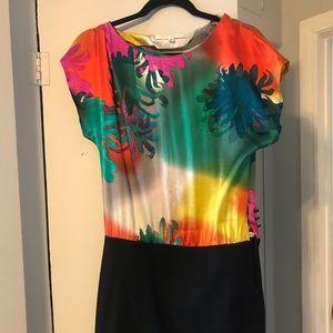 Trina Turk silk Dress/shirt size 2-4